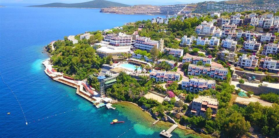 Green Beach Hotel , Bodrum Tatili, Mersin Çıkışlı Bodrum Tatili
